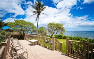 Aloha Sunrise private deck